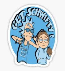 Get Schiwfty Rick And Morty Sticker