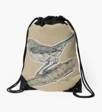 State Bird Series:  Arkansas - Northern Mockingbird Drawstring Bag