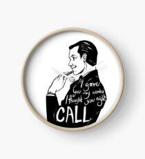 Call Me  Clock