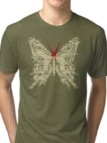 Deadly Species - Butterfly Tri-blend T-Shirt