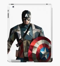 Captain A, Favorite movie hero iPad Case/Skin