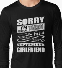 Super Sexy September Girlfriend T Shirt T-Shirt