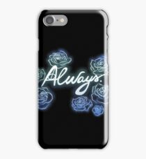 Neverforget-roses iPhone Case/Skin
