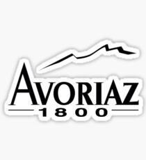 avoriaz Sticker