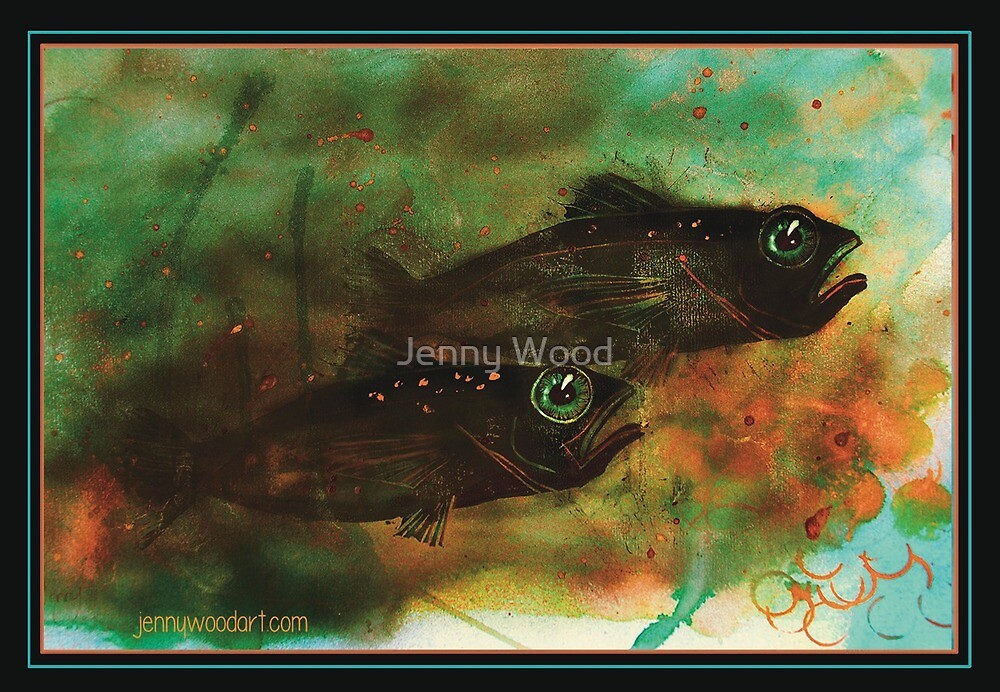 Fishing for fun by Jenny Wood