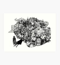 Sherlock World Art Print