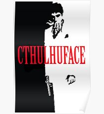 Cthulhuface Poster