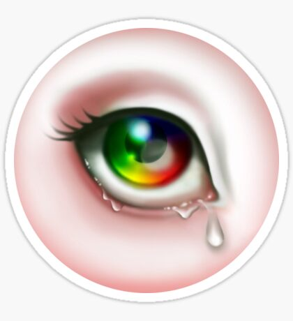 Rainbow Eye - Spectrum Sticker