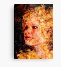 The Goddess of Fire Metal Print