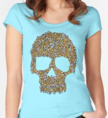 Create Or Die Women's Fitted Scoop T-Shirt