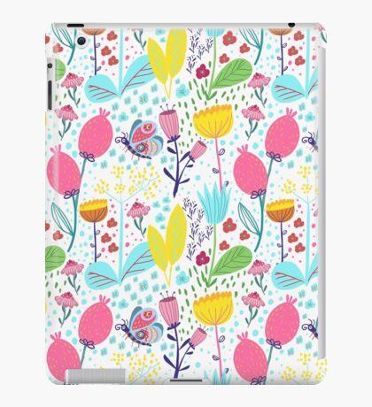 Funky Flowers iPad Case/Skin