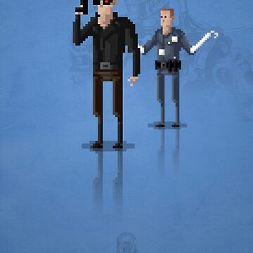 8-Bit TV Terminator by capdeville13