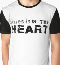 blues rock cool vintage guitar guitarist t shirts Graphic T-Shirt
