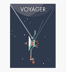Voyager program space probe Photographic Print