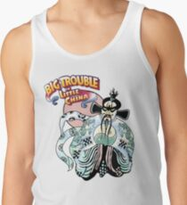 Big Trouble In Little China & Lo Pan HD White Tank Top