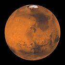 Globale Farbansicht des Mars. von StocktrekImages