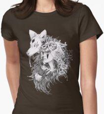 Princess Mononoke -Ghibli Studio Women's Fitted T-Shirt