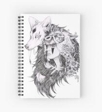 Cuaderno de espiral Princesa Mononoke -Ghibli Studio