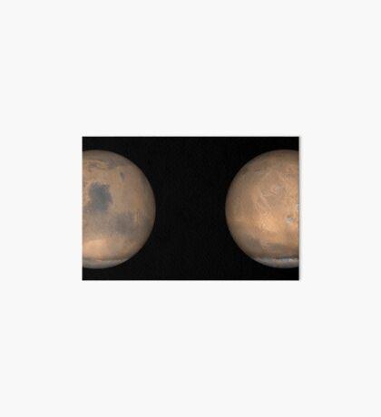 Globale Ansichten des Mars im späten Nordsommer. Galeriedruck