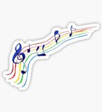 notes. music Sticker