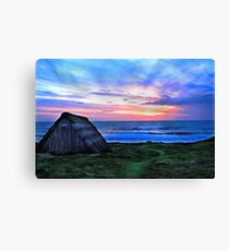 Celtic Beach Hut Canvas Print
