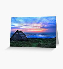 Celtic Beach Hut Greeting Card