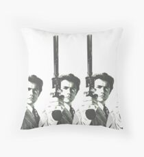 Eight Eastwoods_White Throw Pillow