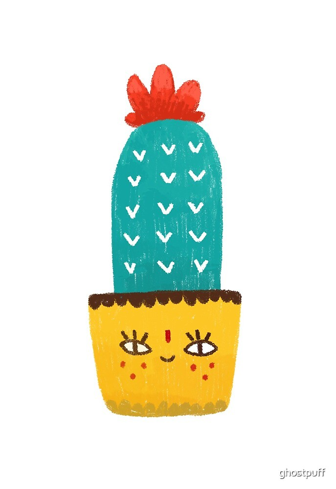 Hi Cactus by ghostpuff