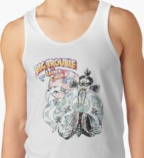 Big Trouble In Little China & Lo Pan 25 Years Old Distress Fade Tank Top