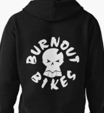 Burnout Bikes - White Logo 2 T-Shirt
