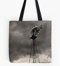 Farm Market Windmill Tote Bag