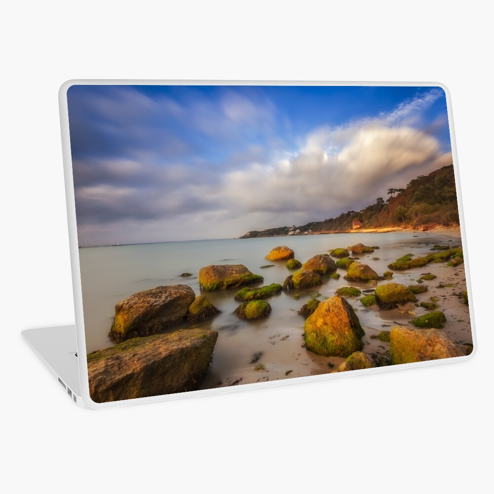 Totland Bay IOW  Laptop Skin