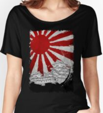 Japanese Palace and Sun Women's Relaxed Fit T-Shirt