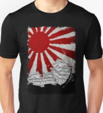 Japanese Palace and Sun Unisex T-Shirt