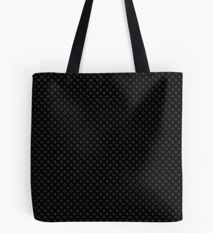 Tiny Black Polka Dots Tote Bag