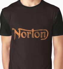 NORTON VINTAGE FADED LOGO Graphic T-Shirt