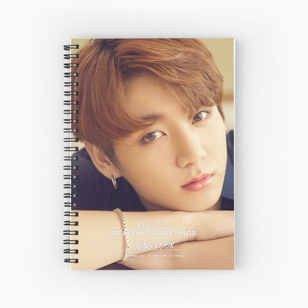 Jungkook BTS Cuaderno de espiral