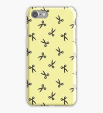 Scissors for hair iPhone Case/Skin