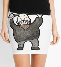 cartoon protester man Mini Skirt