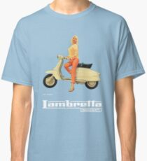 Vintage Lambretta Ad Classic T-Shirt