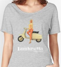 Vintage Lambretta Ad Women's Relaxed Fit T-Shirt