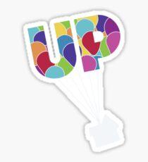 Up Minimalist  Sticker