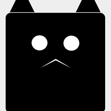 sad cat by johnnychancf