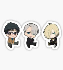 Yuri!! on Ice Trio Sticker