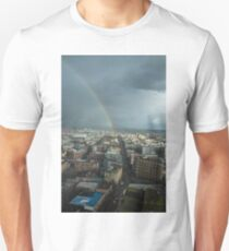 Rainbow Over East Vancouver T-Shirt
