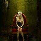 Magical red chair von Britta Glodde