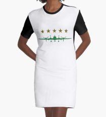 Propeller aircraft Graphic T-Shirt Dress