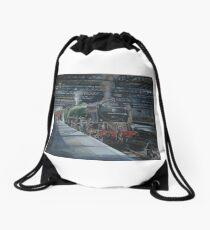 Sir Walter Scott Drawstring Bag