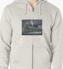 French pacific at Calais. Zipped Hoodie