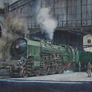 French pacific at Calais. by Mike Jeffries
